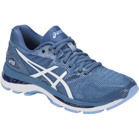 asics Gel-Nimbus 20 Shoes Women Azure/White